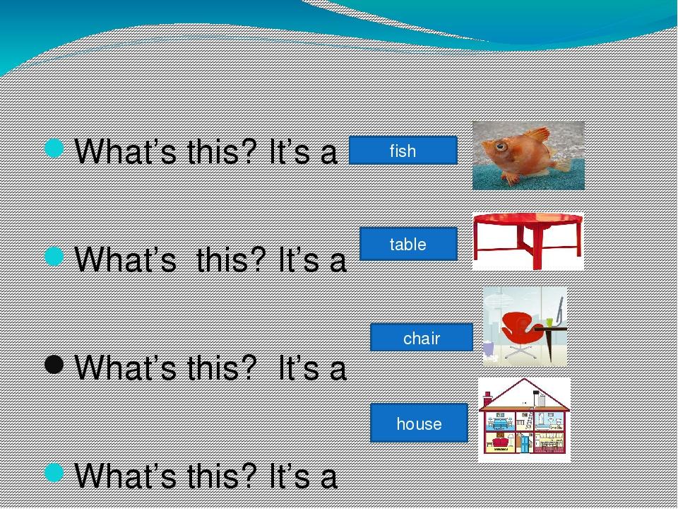 What's this? It's a What's this? It's a What's this? It's a What's this? It'...