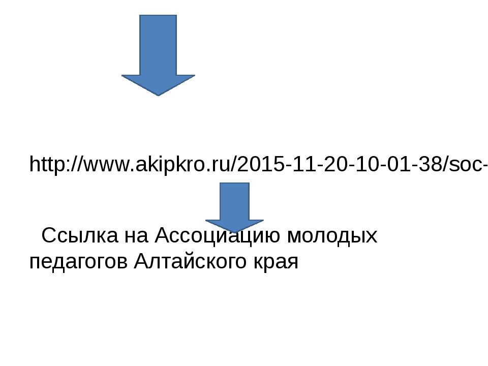 http://www.akipkro.ru/2015-11-20-10-01-38/soc-assoc-young-teachers.html Ссыл...