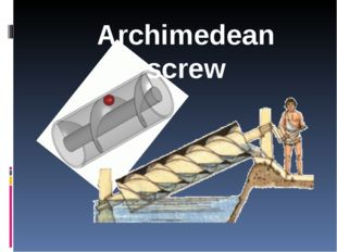 Archimedes's force