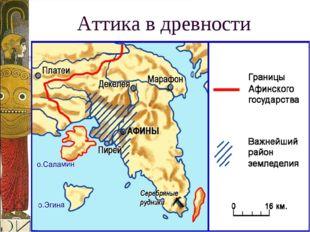 Аттика в древности