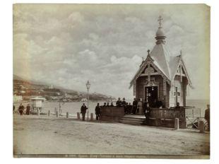 Набережная, кофейня, часовня, старый город. 1880-е.