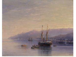Айвазовский Иван Константинович (1817-1900). Берег Ялты