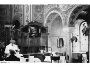 Обеденный зал в ресторане Форос