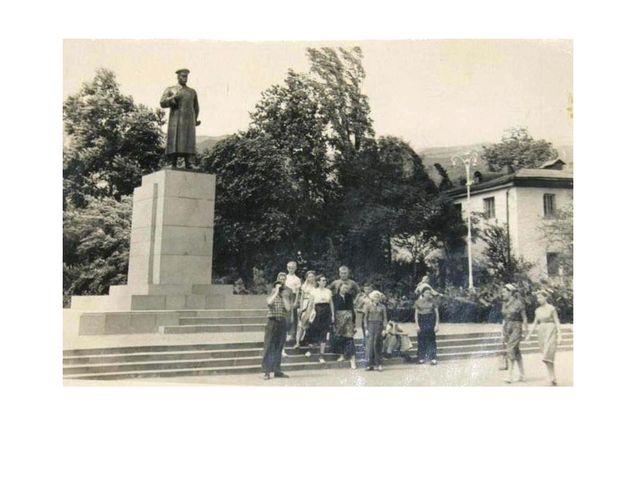 Отличный снимок памятника т.Сталину