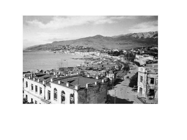 1920 Панорама с гостиницы Крым
