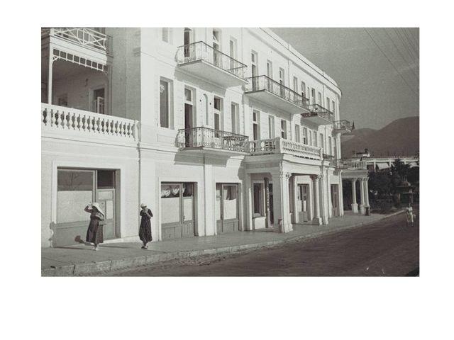 Гостиница «Ореанда» 30-егоды