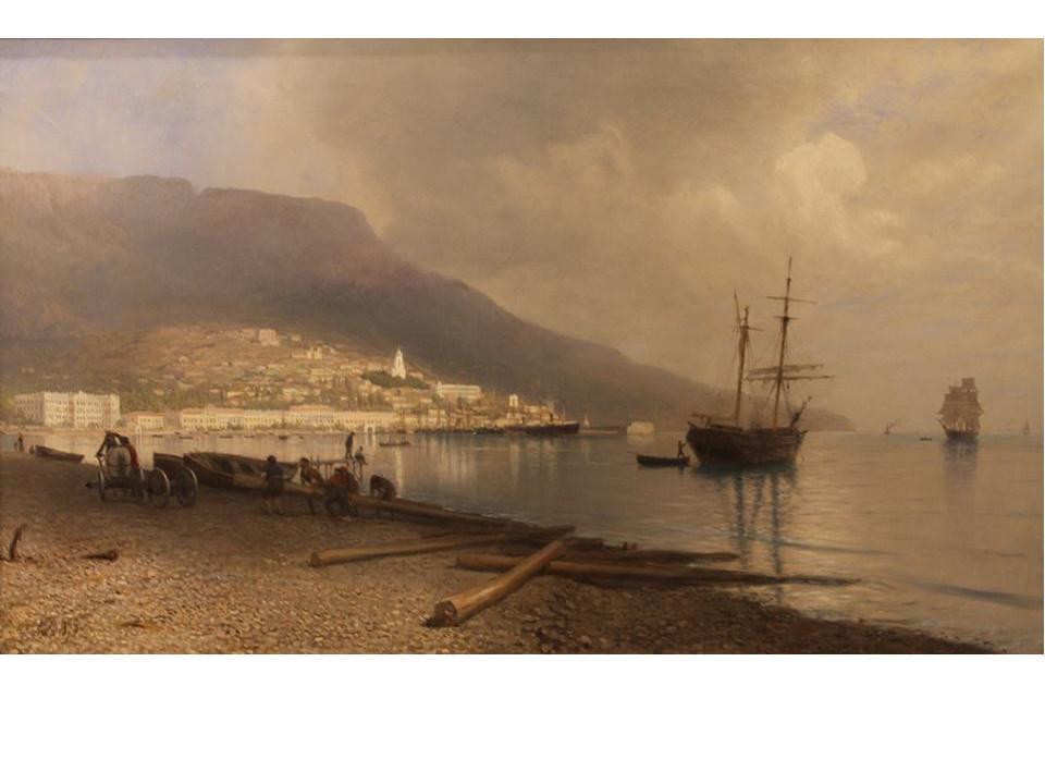 Лагорио Лев Феликсович (1826-1905). Вид Ялты
