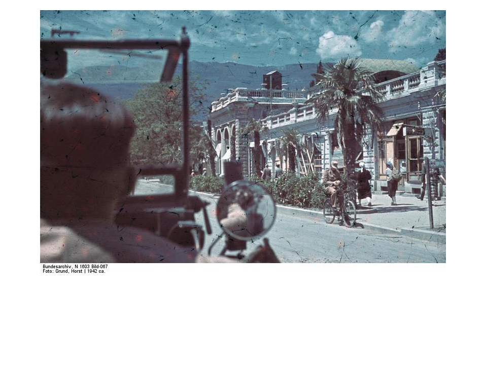 Июль 1942 г. Набережная Ялты
