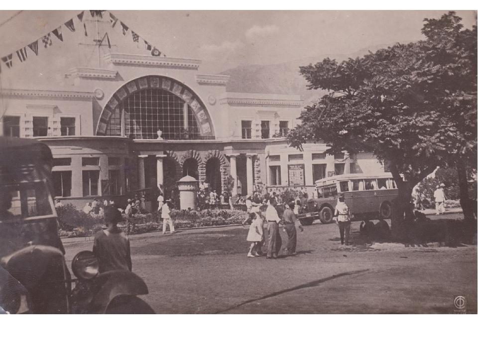 Морвокзал в конце 1930-х