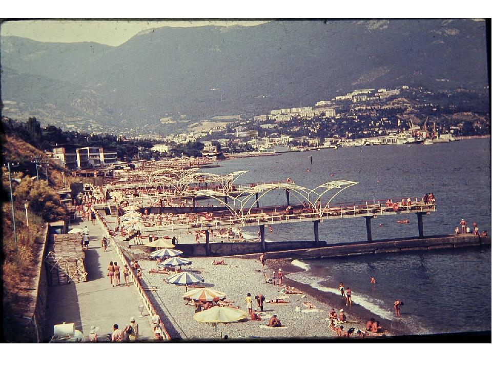 Пляж «Солнечный» (ныне в развалинах…)