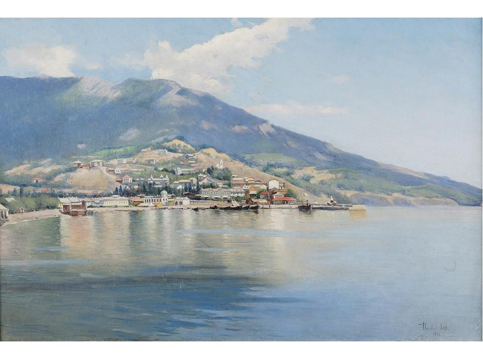Чернявский Алексей Григорьевич (?-1912) Ялта