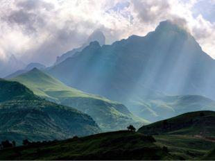 Достопримечательности Драконовы горы стали бы достойным бэкграундом для очере