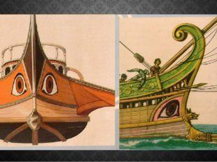 Якорь – символ надежды Рисовали на парусах даже глаза, чтобы знать, куда плыть.