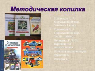 Плешаков А. А. Окружающий мир. Учебник 1 класс Плешаков А. А. Окружающий мир.