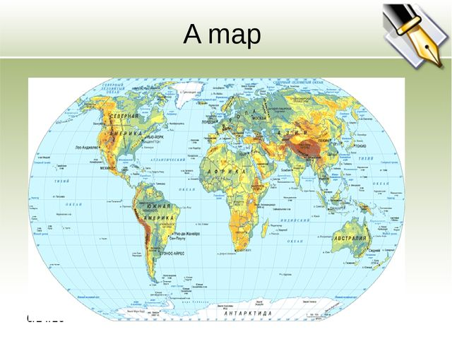 A map