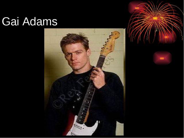 Gai Adams