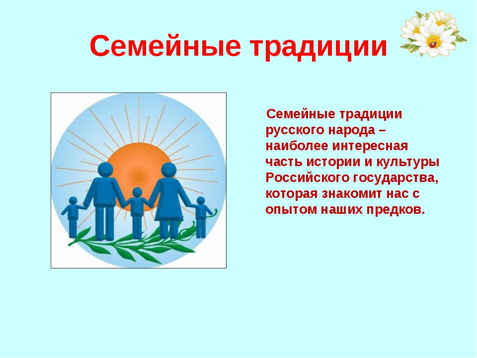 Семейные традиции Семейные традиции русского народа – наиболее интересная час...