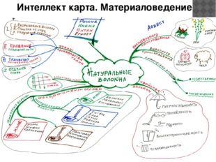 Интеллект карта. Материаловедение