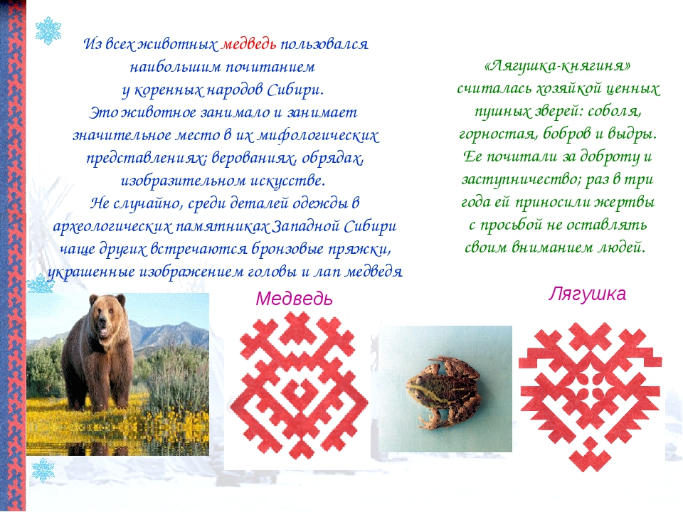 Лягушка Медведь Из всех животных медведь пользовался наибольшим почитанием у...