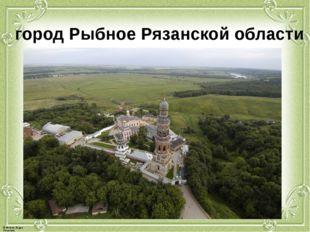 город Рыбное Рязанской области © Фокина Лидия Петровна