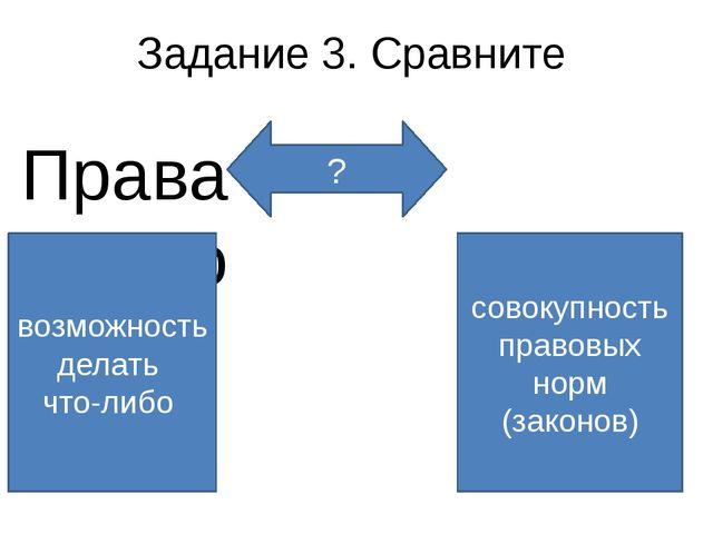 Задание 4. Выпишите определения понятий Правоспособность – возможность челове...