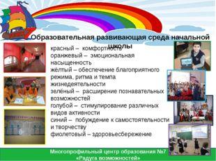 Многопрофильный центр образования №7 «Радуга возможностей» Образовательная р