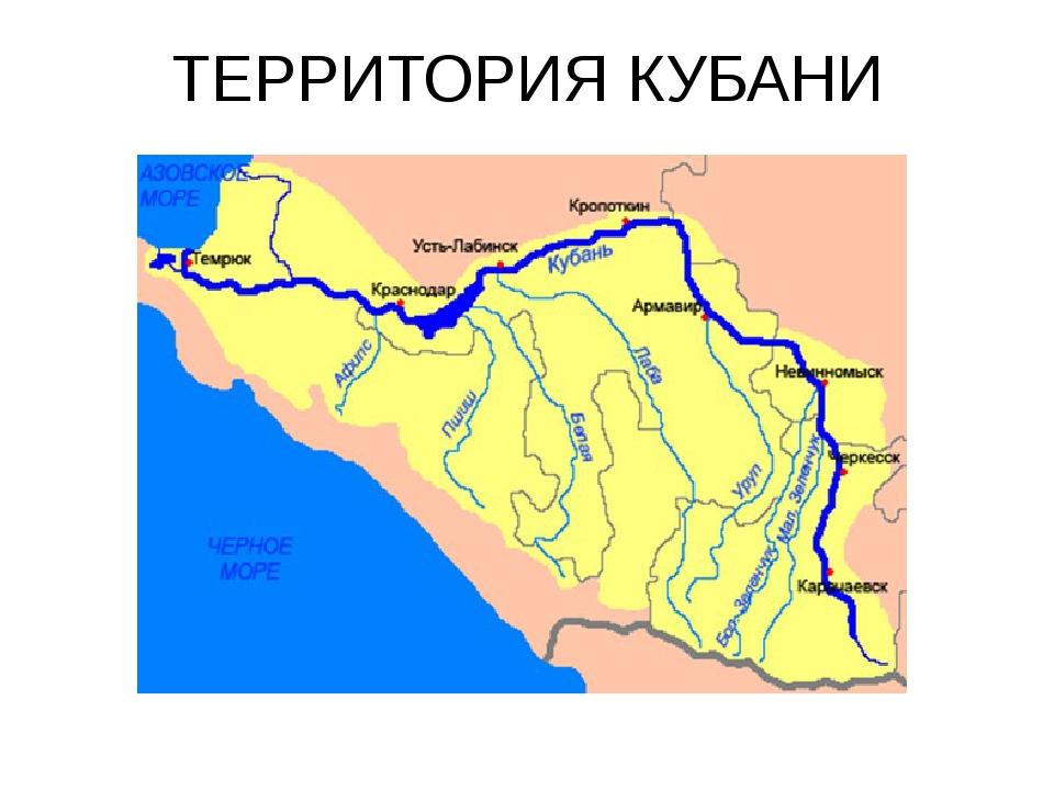 ТЕРРИТОРИЯ КУБАНИ