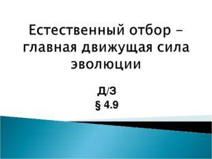 Д/З § 4.9