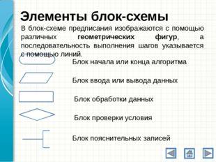 Алгоритмическая структура «Следование» Следование – это алгоритмическая конст