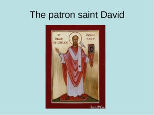 The patron saint David