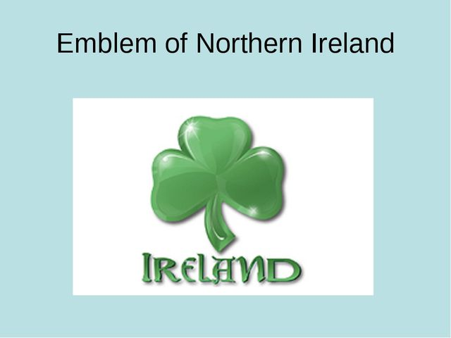 Emblem of Northern Ireland
