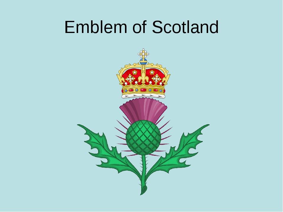 Emblem of Scotland