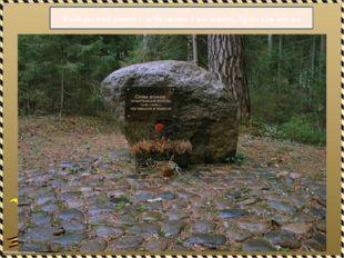 Выборгский район - п.Чулково, 1 км южнее, братская могил
