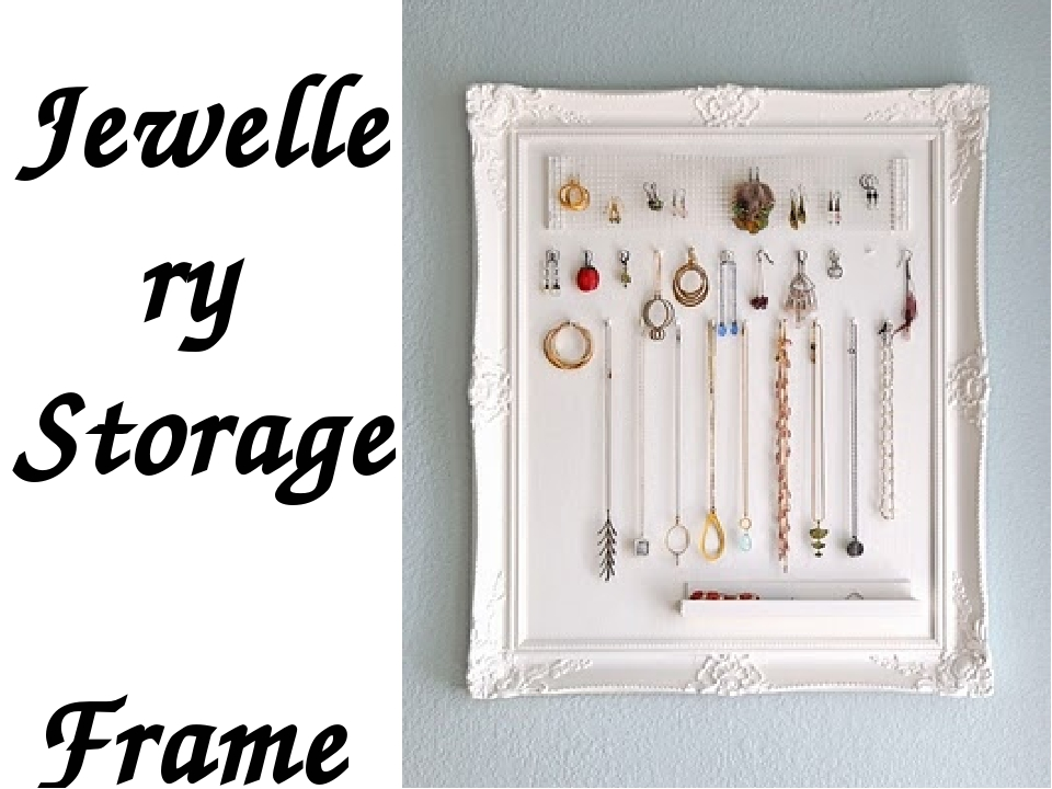Jewellery Storage Frame