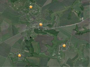Карта Боброводворской территориальной администрации Губкинского городского о