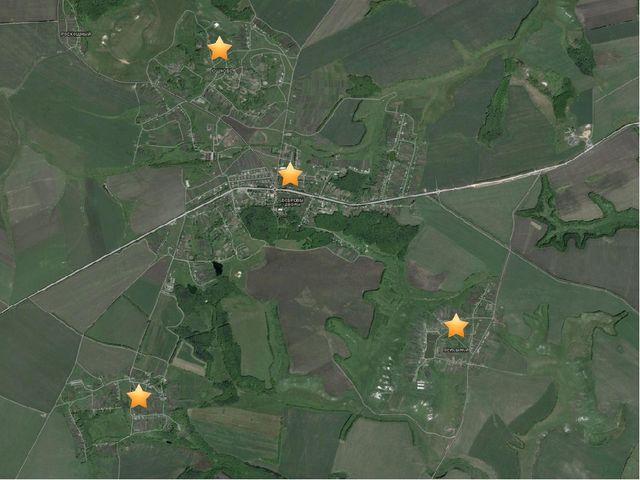 Карта Боброводворской территориальной администрации Губкинского городского о...