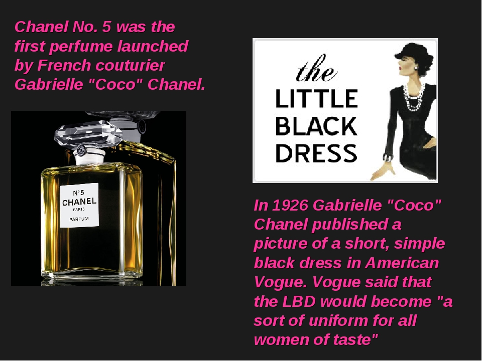"Chanel No. 5 was the first perfume launched by French couturier Gabrielle ""Co..."
