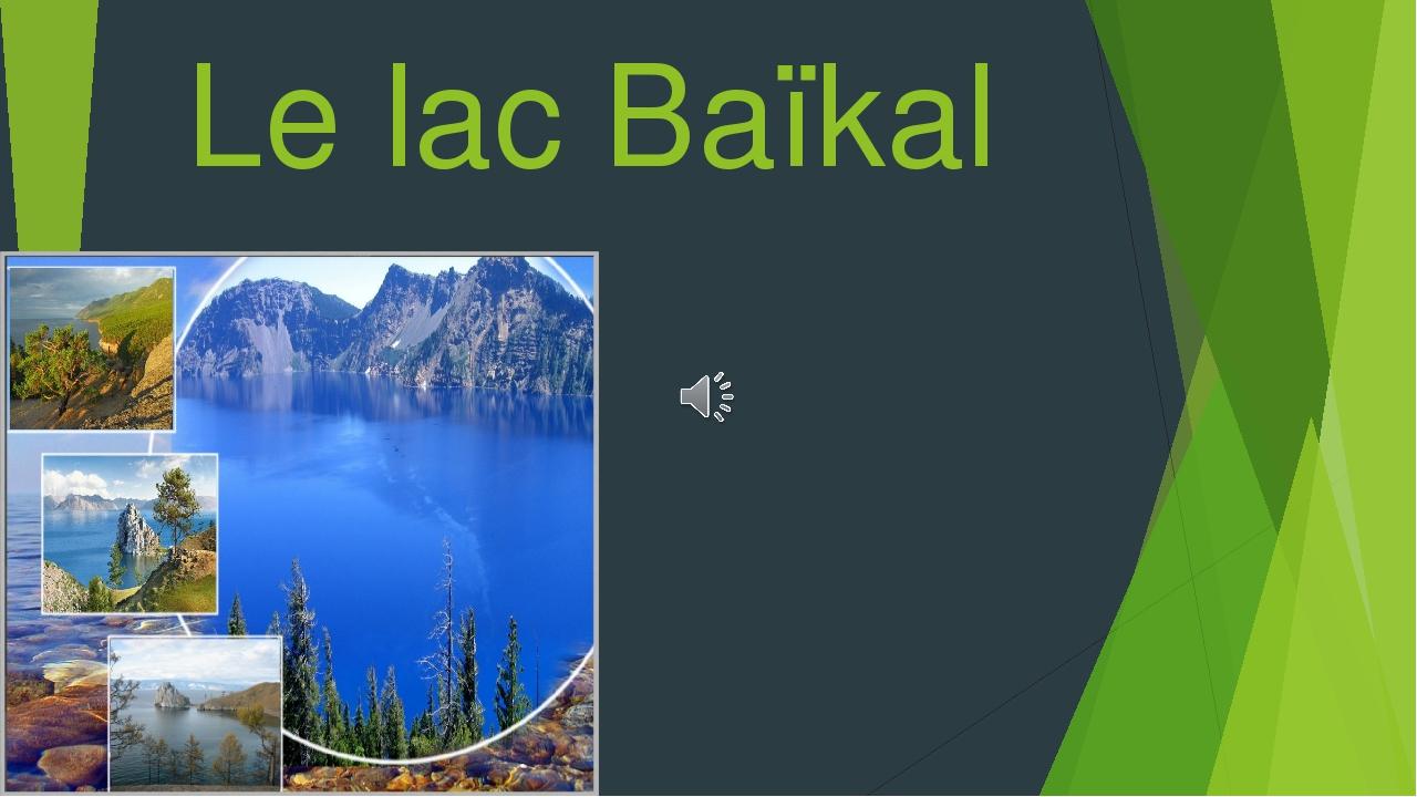 Le lac Baïkal 3 partie