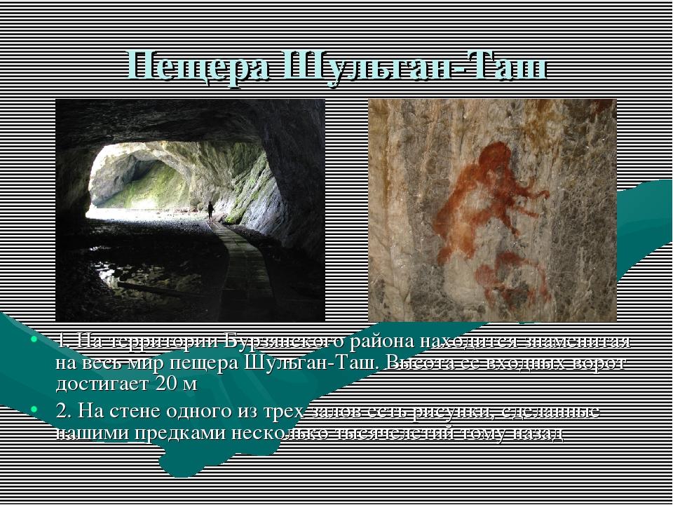 Пещера Шульган-Таш 1. На территории Бурзянского района находится знаменитая н...
