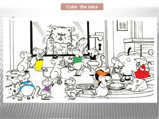 Color the mice