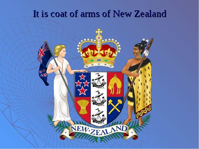 It is coat of arms of New Zealand