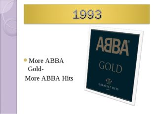 More ABBA Gold- More ABBA Hits