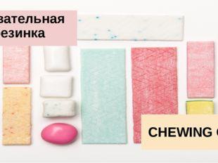 Жевательная резинка CHEWING GUM