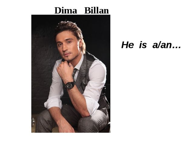 Dima Billan He is a/an…