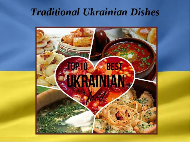 Traditional Ukrainian Dishes