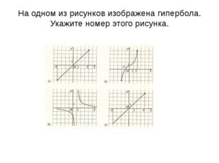 График какой их приведенных ниже функций изображен на рисунке? у=-х2 у=х2+1 У