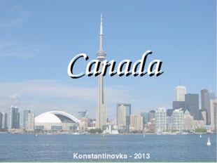 Canada Konstantinovka - 2013