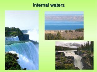 Internal waters