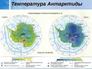 Температура Антарктиды
