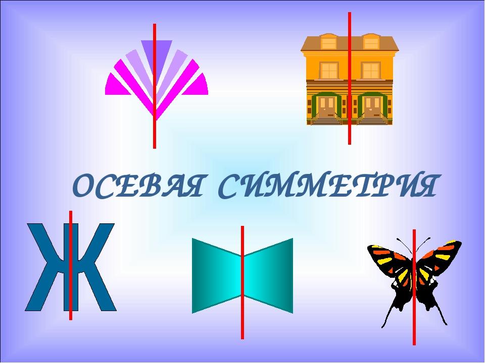 пример осевой симметрии картинка характеристики